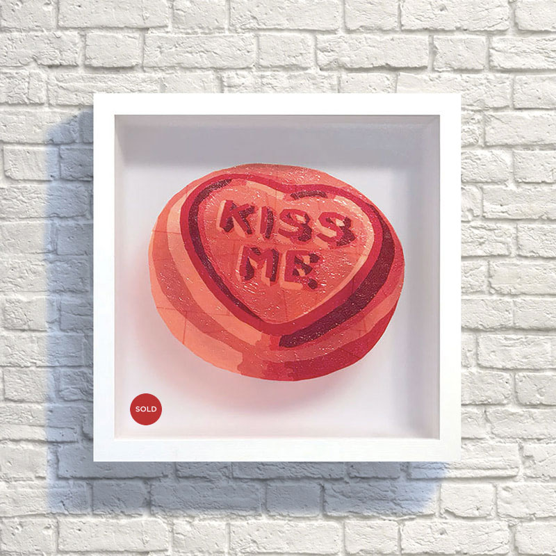 Kiss Me SweetArt original